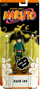 Rock Lee Basic Figure with Snap on Gear