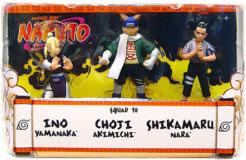 Naruto 3-Inch 3-Pack: Squad 10: Ino, Choji, Shikamaru