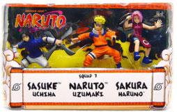 Naruto 3-Inch 3-Pack: Squad 7: Sasuke, Naruto, Sakura