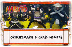 Naruto 3-Inch 3-Pack: Orochimaru and Grass Ninjas