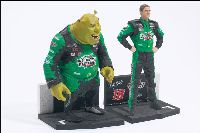 Shrek & Bobby Labonte