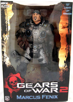 Gears of War 2  - 12-Inch Marcus Fenix 2 Light Up Armor