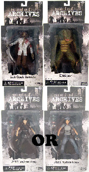 Resident Evil Archives - Series 2 Set of 3 [ RANDOM JILL]