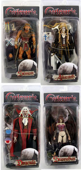 NECA Player Select - Castlevania - Set of 4