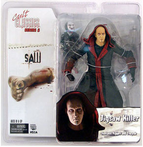 Jigsaw Killer and Puppet Saw