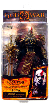 God of War II Ares Armor Kratos Open Mouth