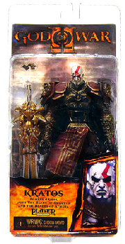 God of War II Ares Armor Kratos Closed Mouth