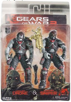 Gears Of War  - Special Edition - Locust Drone and Locust Sniper