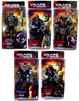Gears of War Series 3 - Set of 5
