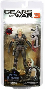 Gears Of War 3 - Anya Stroud with Lancer
