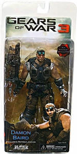 Gears Of War 3 - Damon Baird with Retro Lancer, Wrench, Screwdrivers