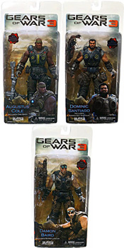 Gears Of War 3 - Series 2 Set of 3 (Damon, Dominic, Augustus)