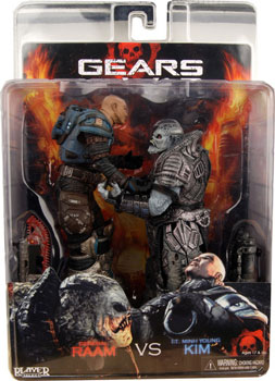 Gears Of War - Kim vs Raam 2-Pack