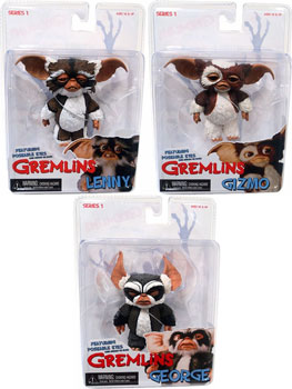 Gremlins - Mogwai - Set of 3  George, Gizmo, Lenny