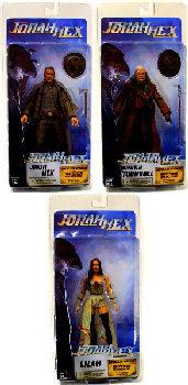 Jonah Hex - Series 1 Set of 3[Hex,Lilah,Turnbull]