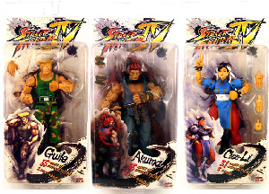 Street Figther 4 - Series 2 Set of 3