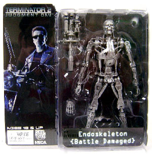 Terminator 2 - Endoskeleton Battle Damaged