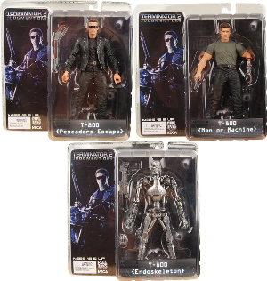Terminator 2 - Series 1 Set of 3