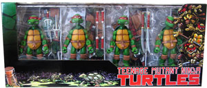 Neca teenage Mutant Ninja Turtles TMNT - Color Box Set Exclusive