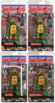 Neca TMNT - Single Figures Set of 4