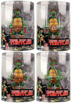 TMNT Tube Packaging - Set of 4