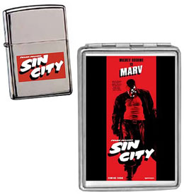 Sin City Lighter and Case