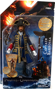 POTC - On Stranger Tides - 6-Inch Captain Barbossa
