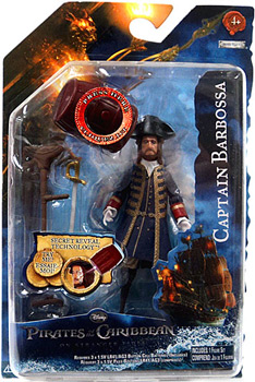 POTC - On Stranger Tides - 3.75-Inch Captain Barbossa