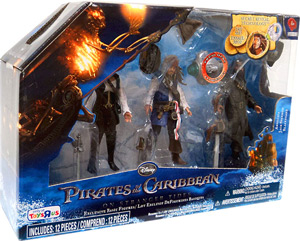 POTC - On Stranger Tides - 3-Pack  Blackbeard, Jack Sparrow, Angelica