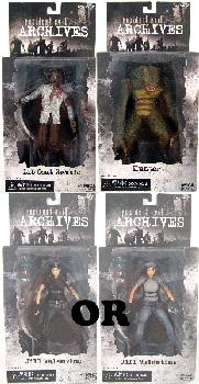 Resident Evil Archives - Series 2 Set of 3 [ RANDOM JILL]