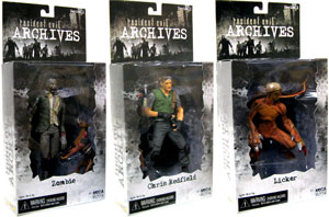 Resident Evil Archives - Set of 3