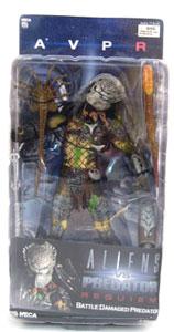 Alien Vs Predator Requiem - Battle Damaged Masked Predator