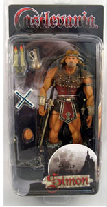 Castlevania - Simon Belmont - NON MINT PACKAGE