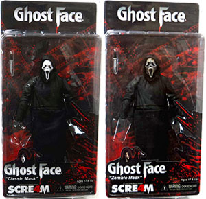Cult Classic Scream 4 - Set of 2 [Classic and Zombie Mask Ghost Face]