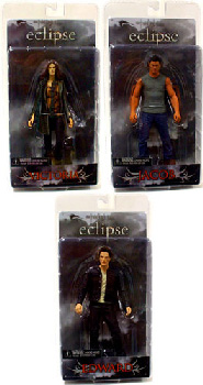 Twilight Eclipse - Series 1 Set of 3 [Edward, Jacob, Victoria]