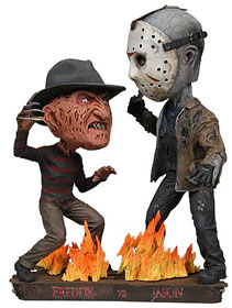 Freddy Vs. Jason Head Knocker Set