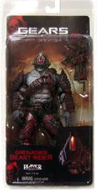 Gears Of War - Locust Grenadier Beast Rider