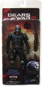 Gears Of War - Series 5 COG Soldier - Shotgun and Lancer