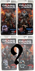 Gears Of War Series 1 Set of 3[RANDOM LOCUST]