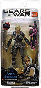 Gears Of War 3 - Anya Stroud with Pink Lancer Variant