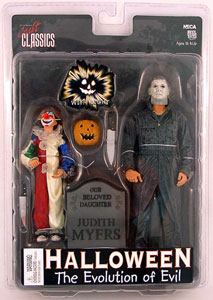 HALLOWEEN EVOLUTION of EVIL FIGURE 2-PK
