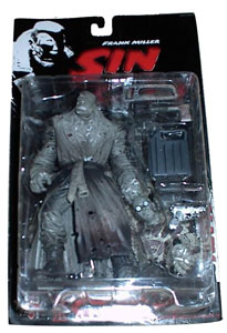 Sin City - McFarlane Black and White Marv