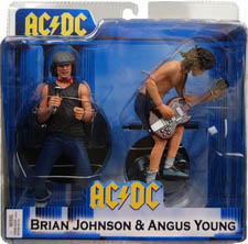 Neca - AC DC Brian Johnson and Angus Young