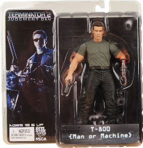 Terminator 2 - T-800 Man Or Machine