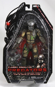 NECA Predators - Battle Damage Classic Predator