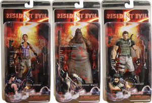 Resident Evil 5 - Series 1 Set of 3