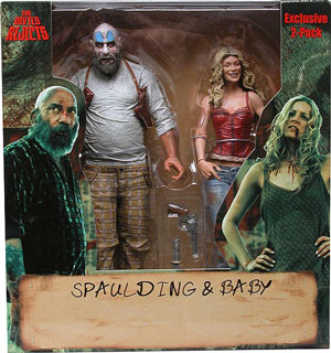 SDCC Spaulding and Baby 2-PACK