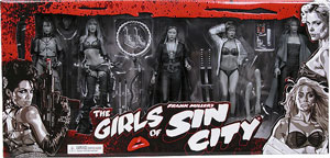 Girls of Sin City Box Set - Black and White
