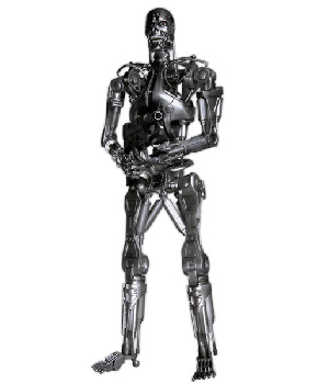 T-800 Endoskeleton From The Terminator