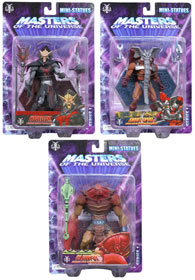 Master Of The Universe Mini-Statue Set of 3